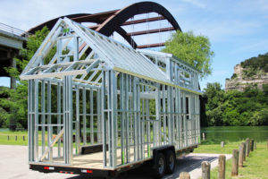 Tiny House Foundations Steel Frame & Trailer Kits