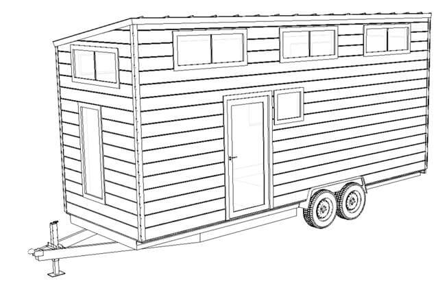 diy steel frame kits tiny house foundations