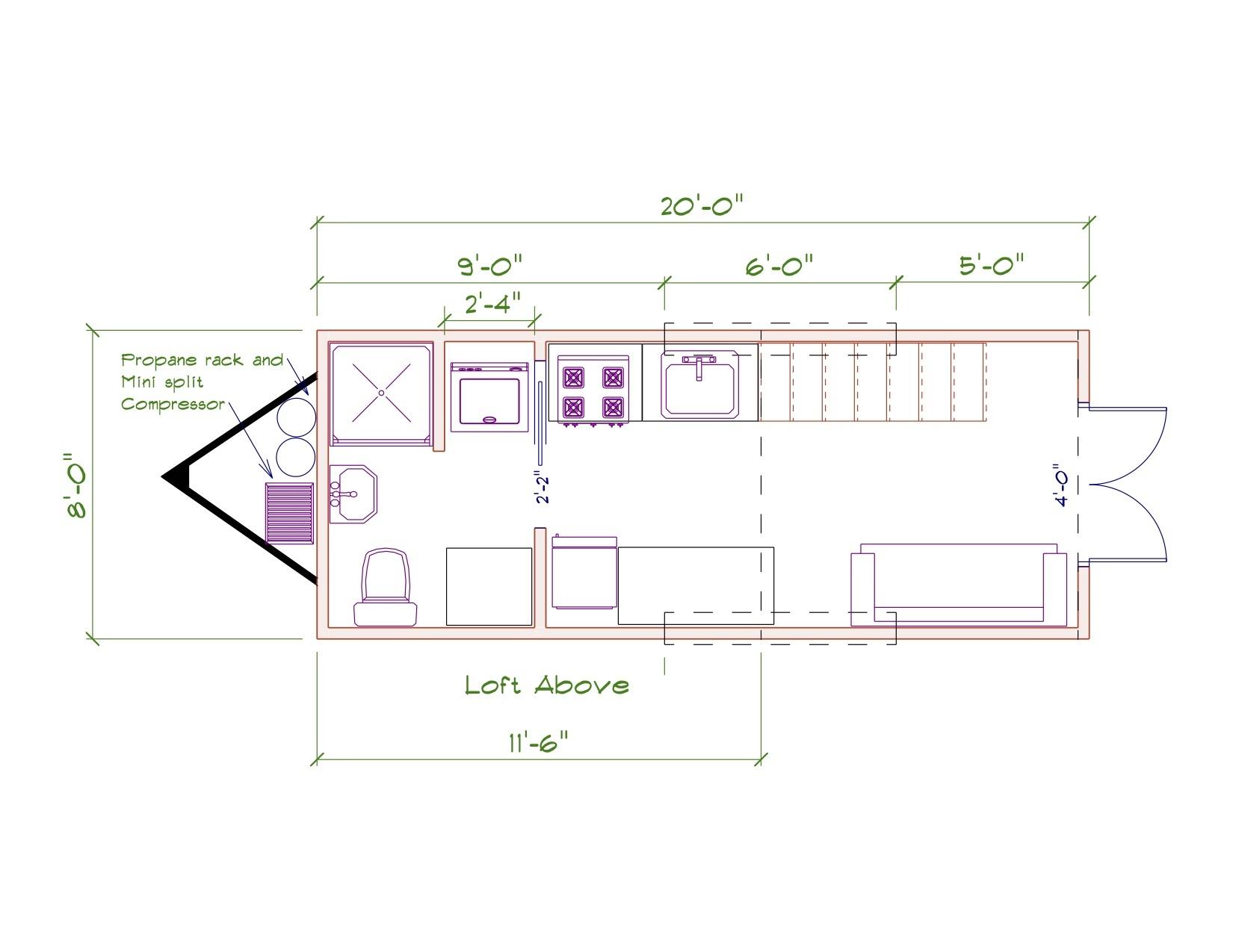 Nixie Floor plan image